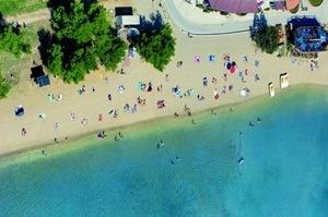 beach bijeca medulin