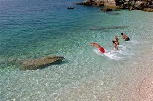 beach sabusa island ugljan