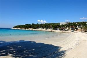 beach slanica island murter