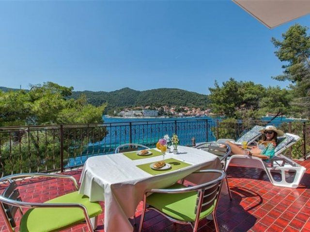 Apartmani Marija - Brna - otok Korčula A1 (6+2) 50961-A1